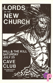 Cave Club, Austin, TX 7/25/87