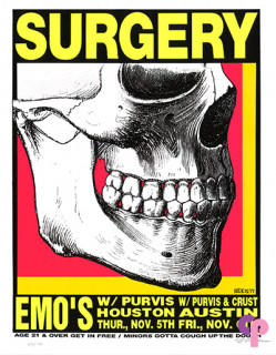 Emo's, Austin, TX 11/5-6/92