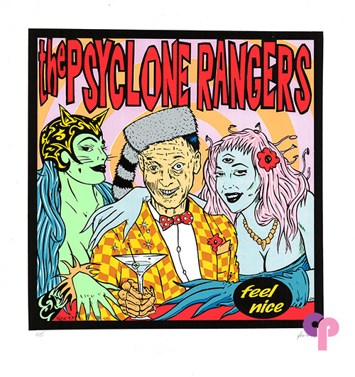 The Psyclone Rangers Album Promo 1/5/93