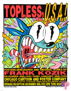 Chicago Cartoon and Poster Company, Chicago, IL 12/2/93-1/2/94