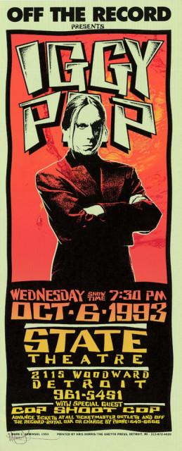 State Theatre, Detroit MI 10/6/93