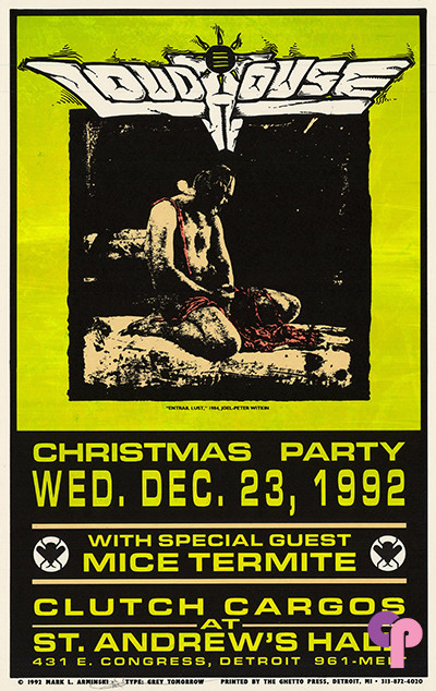 St. Andrews Hall, Detroit, MI 12/23/92