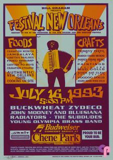 Chene Park Music Theatre, Detroit, MI 7/16/93