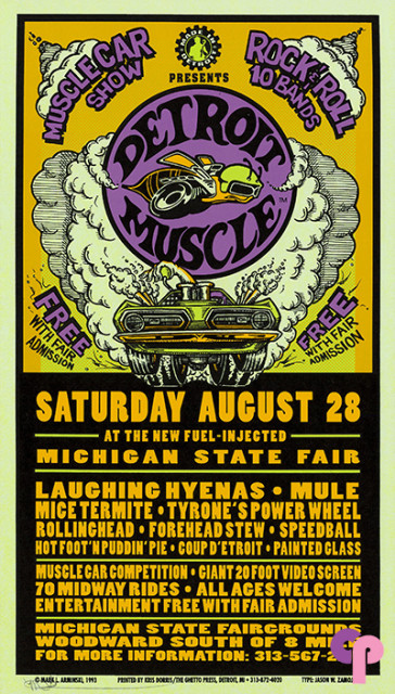 Michigan State Fairgrounds, Detroit, MI 8/28/93