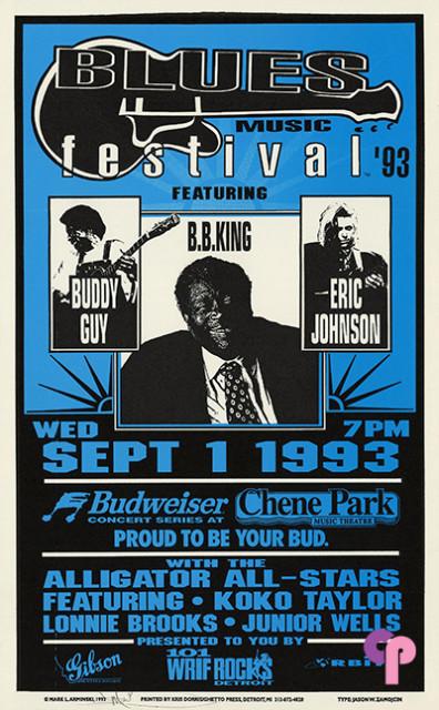 Chene Park Music Theatre, Detroit, MI 9/1/93