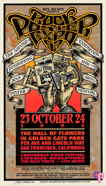 1993 Rock Poster Expo