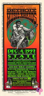 State Theatre, Detroit, MI 12/4/93