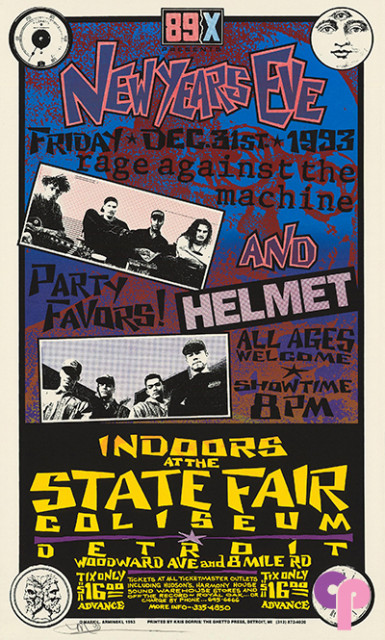 Michigan State Fairgrounds, Detroit, MI 12/31/93