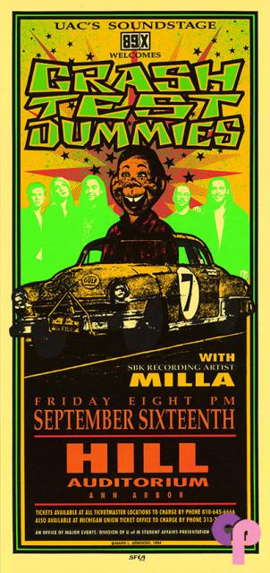 Hill Auditorium, Ann Arbor, MI 9/16/94