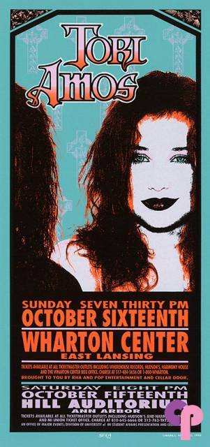 Wharton Center, East Lansing, MI 10/16/94