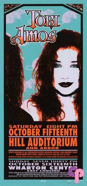 Hill Auditorium, Ann Arbor, MI 10/15/94