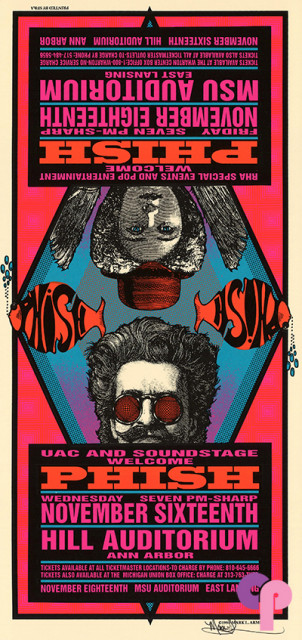 Hill Auditorium, Ann Arbor, MI,11/16/94