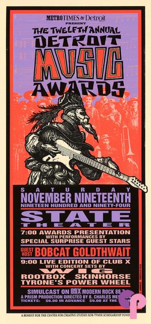State Theatre, Detroit, MI 11/19/94