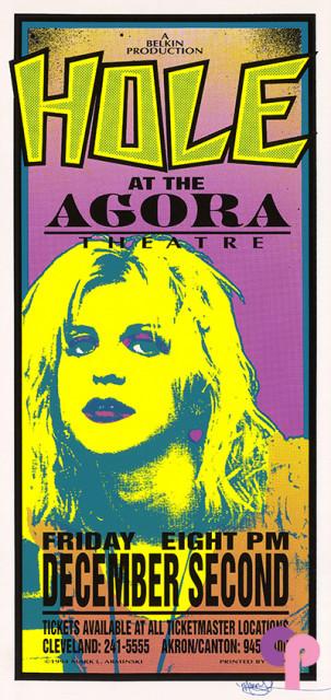 Agora Theatre, Cleveland, OH 12/2/94