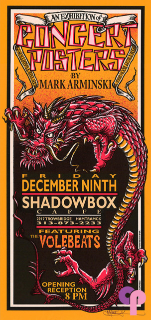 Shadowbox Caffe, Hamtrack, MI 12/9/94