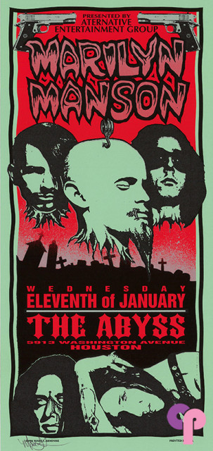 The Abyss, Houston, TX 1/11/95