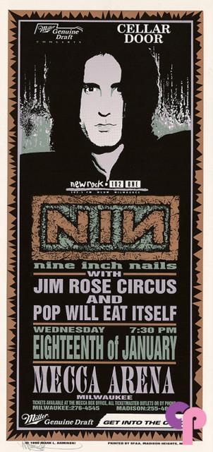 Mecca Arena, Milwaukee, WI 1/18/95