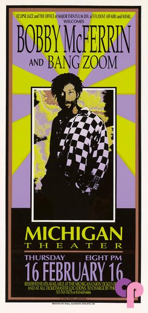 Michigan Theater, Ann Arbor, MI 2/16/95
