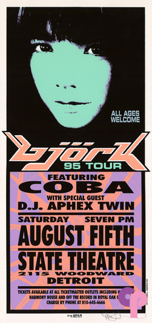 State Theatre, Detroit, MI 8/5/95