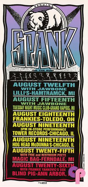 Lili's 21 Club, Hamtrack, MI 8/12-26/95