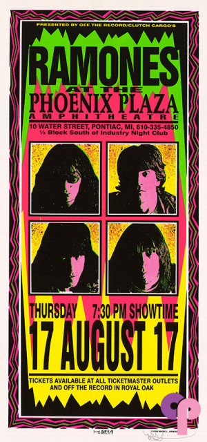 Phoenix Plaza Amphitheatre, Pontiac, MI 8/17/95