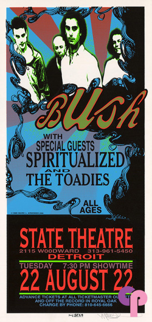State Theatre, Detroit, MI 8/22/95