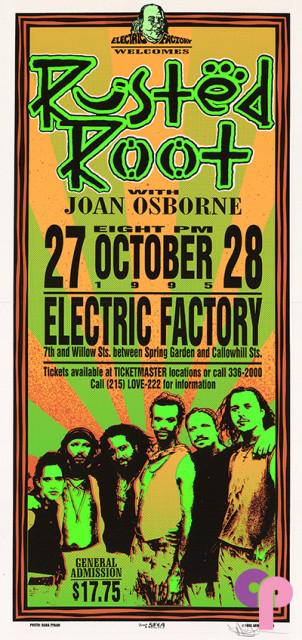 Electric Factory, Philadelphia, PA 10/27-28/95