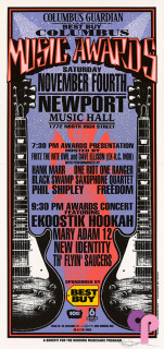 Newport Hall, Columbus, OH 11/4/95
