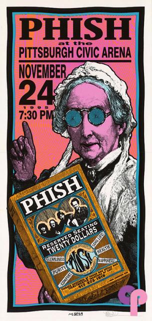 Pittsburgh Civic Arena, Pittsburgh, PA 11/24/95