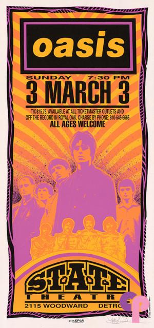 State Theatre, Detroit, MI 3/3/96