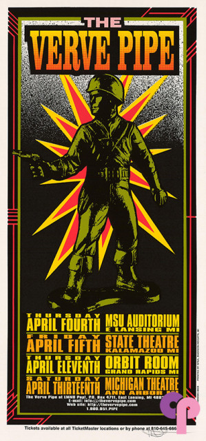 MSU Auditorium, East Lansing, MI 4/4-13/96