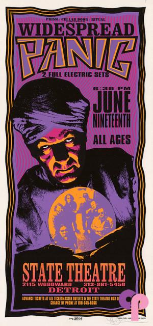 State Theatre, Detroit, MI 6/19/96