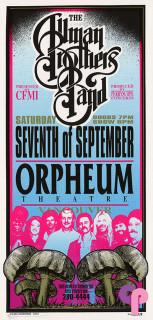 Orpheum Theatre, Vancouver, British Columbia 9/7/96