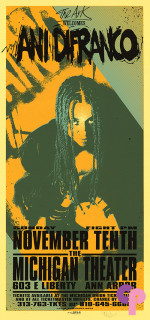 Michigan Theater, Ann Arbor, MI 11/10/96