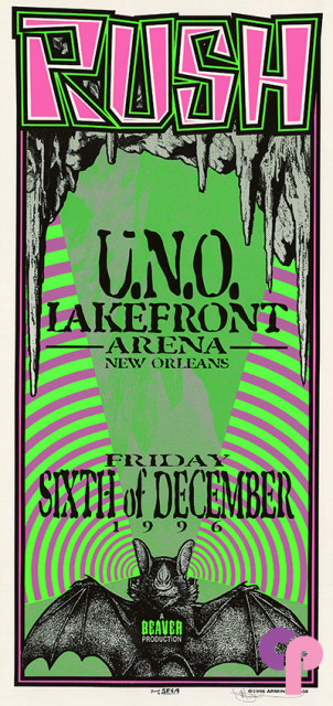 University of New Orleans Lakefront Arena, New Orleans, LA 12/06/96