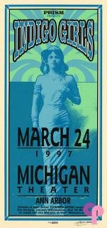 Michigan Theater, Ann Arbor, MI 3/24/97