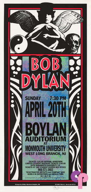 Boylan Auditorium, Monmouth University, West Long Branch, NJ 4/20/97
