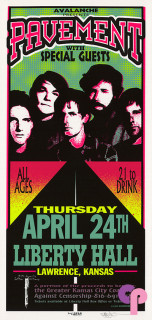 Liberty Hall, Lawrence, KS 4/24/97