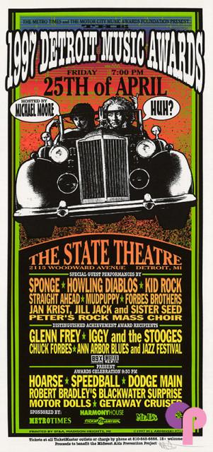 State Theatre, Detroit, MI 4/25/97