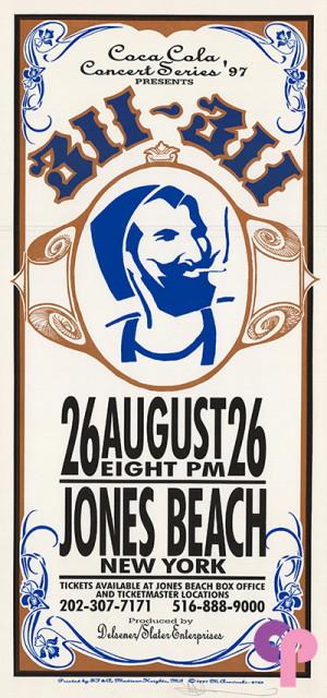 Jones Beach Amphitheater, Jones Beach, NY 8/26/97