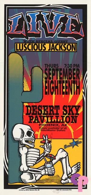 Desert Sky Pavilion, Phoenix, AZ 9/18/97