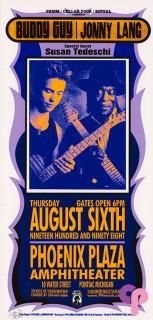Phoenix Plaza Amphitheatre, Pontiac, MI 8/6/98