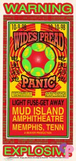 Mud Island Amphitheatre, Memphis, TN 10/9-10/98