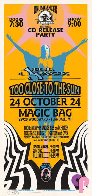 Magic Bag, Ferndale, MI 10/24/98