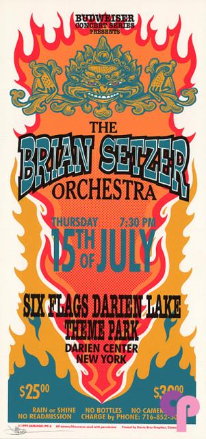 Six Flags Darien Lake Theme Park, Darien Center, NY 7/15/99