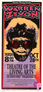 The Theatre of the Living Arts, Philadelphia, PA 10/28/99