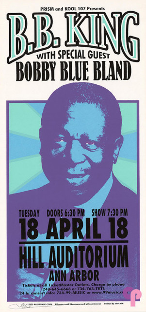 Hill Auditorium, Ann Arbor, MI 4/18/00