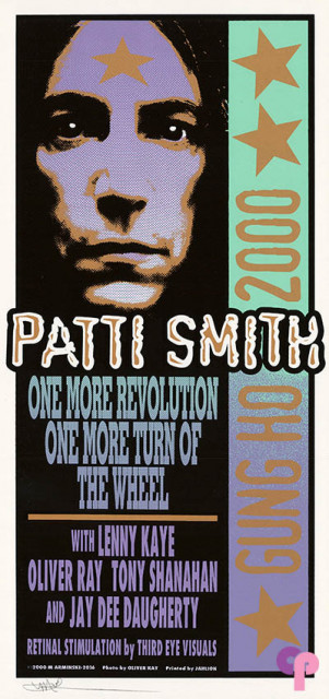 Patti Smith Gung Ho Tour