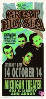 Michigan Theater, Ann Arbor, MI 10/14/00
