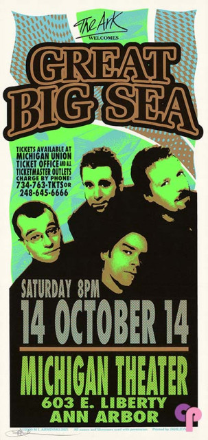 Michigan Theater, Ann Arbor, MI 10/14/00
